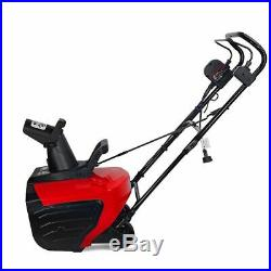18 1600W Electric Snow Blower Thrower Throws Snow 30' 180 Degree Driveway