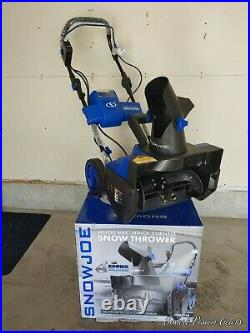 18 In. 40-Volt Single-Stage Cordless Electric Snow Blower Kit