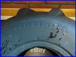 20X10X8 Bar tire