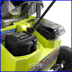 20 in. 40-Volt Single-Stage Brushless Cordless Electric Snow Blower with 5.0 Ah