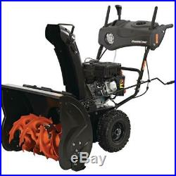 24 in Two-Stage Gas Snow Blower with Electric Start & Headlight Express Delivery