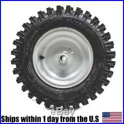 2PK 4.80-8 4.80x8 480-8 X-Trac 2PLY Lawn & Garden SnowThrower Tiller Tire
