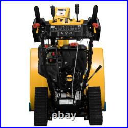 2X 30 In. 357 Cc Track Drive Two-Stage Electric Start Gas Snow Blower With Steel