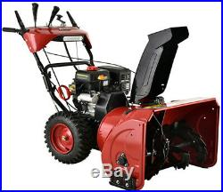 30 in. 302 cc Two-Stage Electric & Recoil Start Gas Snow Blower/Snow Thrower New