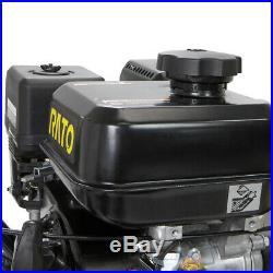 31 Walk Behind Snow Sweeper Power Brush Broom Mower 7HP Gas Engine 212CC EPA