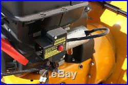 6 Speed Walk Behind 24 Gas Snow Thrower 212CC Electric Start Forward & Reverse
