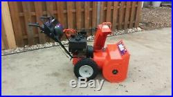 ARIENS ST824LE SNOWBLOWER 2 Stage Automatic ELECTRIC START Works Great