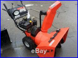 Ariens 8526 two stage snow blower thrower/clean/no leaks/runs great $500 option