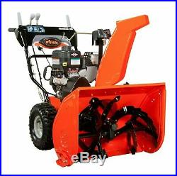 Ariens Deluxe 28 in. 2-Stage Snow Blower Thrower 250cc Electric Start Excellent