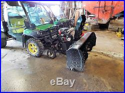 Bercomac ATV 72 snowblower. New with 25HP Honda Engine