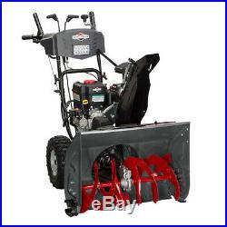Briggs & Stratton 1696619 27 Inch 250cc Dual Stage Gas Powered Snow Thrower