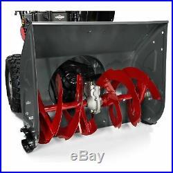 Briggs & Stratton 24 208cc Dual-Stage Electric Start Gas Snow Thrower 1696614