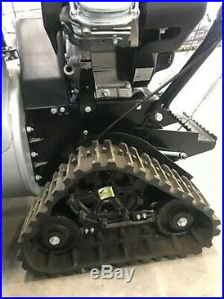 CLEARANCE! Used 30 Inch Two Stage Snow Blower with TRACKS Dirty Hand Tools