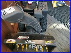 Craftsman 30 357cc Dual-stage Snow Blower, Powered Steering and Heated Grips