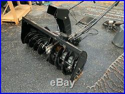Craftsman 42 2 Stage Snow Thrower Tractor Attachment Model 486.248381