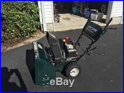 Craftsman 5.0 24-inch Snowblower, gas powered with electric start option