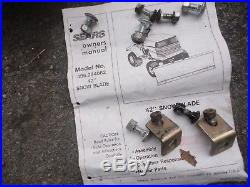 Craftsman Front Mounted Snow Thrower Attachment 42IN Model 842.240510
