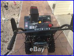 Craftsman snow blower 29 in 9 hp electric start 2 stage