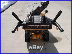 Cub Cadet 2 Stage Snow Thrower With Power Steering Used Very Little