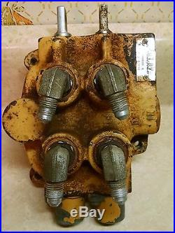 Cub Cadet Duel Spool Hydraulic Control Valve Part # IH-61899-C92