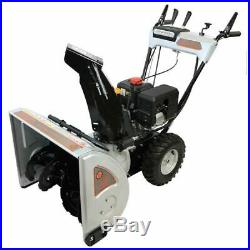 Dirty Hand Tools (24) 212cc Two-Stage Snow Blower