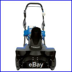 Electric Snow Blower Cordless Thrower Power Shovel 18 in 40V Battery and Charger