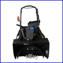Gas Powered Single Stage Snow Blower Thrower, 20-inch Recoil Start 4-Stroke