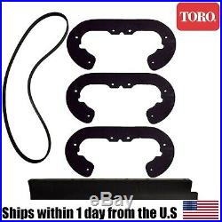 Genuine OEM Toro Paddles Scraper Belt Kit SnowBlower 38600 38601 38602 38603