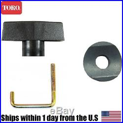 Genuine Toro Snow Blower Lock Handle Bolt Knob Washer CCR3650 98-2266 98-7134
