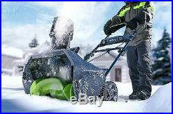 GreenWorks PRO 20 inch 80V Cordless Snow Thrower, Battery Not Included (2600402)