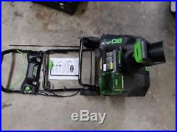 Greenworks Pro 80v 20 Lithium Ion Cordless Snow Thrower Snowblower Tool Only