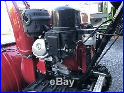 HONDA HS-1132 32 Snowblower with Tracks and LED Lights