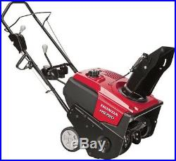 Honda 20 In Gas Snow Blower Single-Stage Electric Start Self-Propelled