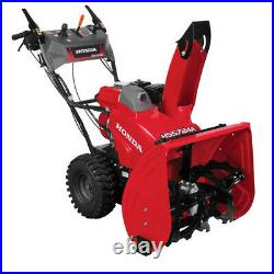 Honda 24 in. Hydrostatic Wheel Drive 2-Stage Snow Blower with Electric Joystick