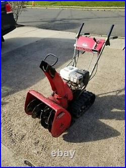 Honda HS55 Track Snowblower Snow Blower two stage