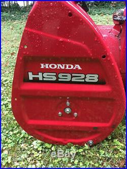 Honda HS928 Commercial Snowblower