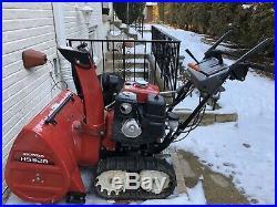 Honda Snowblower HS928 HYDROSTATIC Track Driven Snowblower Mint Condition