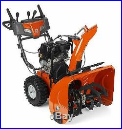 Husqvarna ST224P 208cc Two Stage Snow Thrower Electric Start with Power Steering