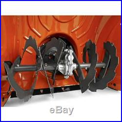 Husqvarna ST224 24 Inch 208cc 2 Stage Thrower Electric Start Snow Blower (Used)