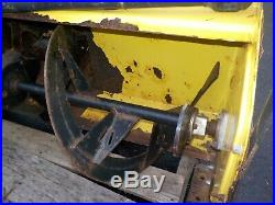 John Deere 47 Snowblower 425 445 455 with Hitch and Driveshaft 47 Snow Blower
