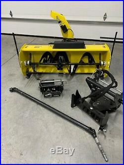 John Deere 54 Two Stage Snowblower For 1023e, 1025r, 1026 (shipping Available)