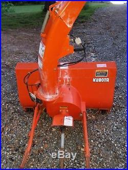 Kubota f series sb-45 snowblower