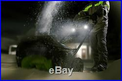 Limited Edition Snowblower Exotic Electric 80V Cordless Winter Christmas Present