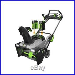 Lith Ion 56V Cordless Single Stage Electric Snow Blower Ego Reconditioned 21 In