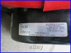 Lot of (2) Toro S-200 20 Snowblowers w Electric Start + EXTRA PARTS snow blower