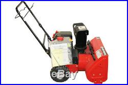 MTD Snow Thrower 22 Two-Stage 179cc OHV Engine, Single Stage MTD-YM22SB-SD