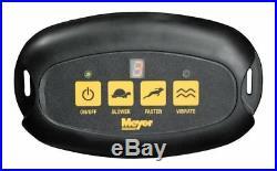 Meyer Products Receiver Mount Broadcast Spreader, Base Line 750 (39100)