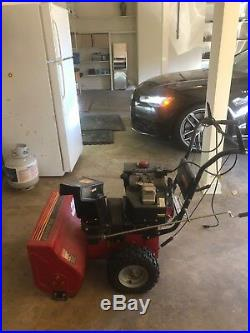 Murray 24 Gas Powered 2-Stage Snow Thrower Used only a few times