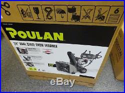 Poulan Pro P2400 24 305cc Dual-Stage Snow Thrower New withRetail Box Local Pickup