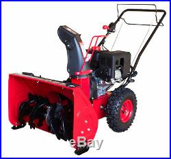PowerSmart Two-Stage Electric Start Gas Snow Blower Self Propelled Rust Proof